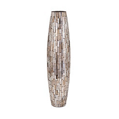 Beige Mosaic Vase