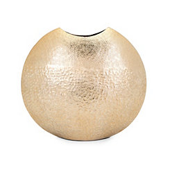 Skinner Medium Metallic Gold Vase