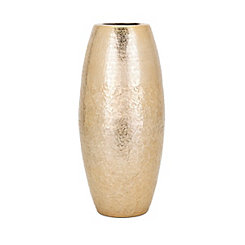 Skinner Large Metallic Gold Vase
