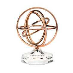 Isabel Copper Sphere Statue