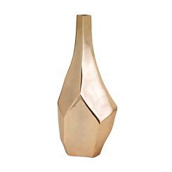 Gold Sienna Vase, 21 in.