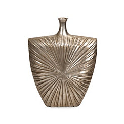 Gold Lonzica Starburst Vase, 24 in.