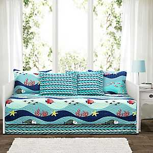 Blue Sea Life 6-pc. Daybed Set