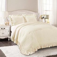 Ivory Riley 3-pc. Full/Queen Comforter Set