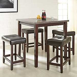 Abby Gray Top Driftwood 5-pc. Dining Set