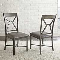 Gray Amalise Dining Chairs, Set of 2