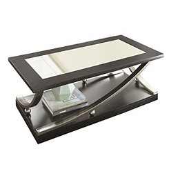 Rykan Black Mirrored Coffee Table