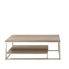 Livia Light Driftwood Brown Coffee Table