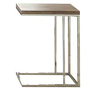 Livia Light Driftwood Brown C-Table