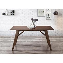 Walnut Mid-Century Modern Dining Table