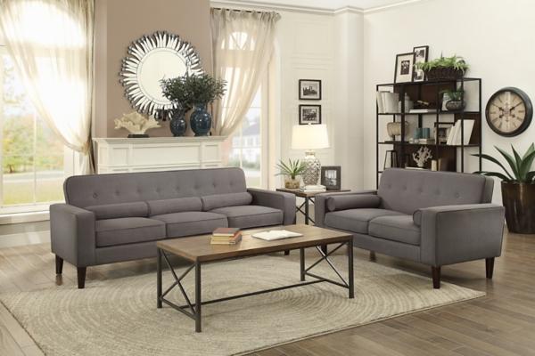 blue calypso stripe accent chair gray midcentury modern sofa