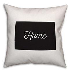 Colorado Home Pillow
