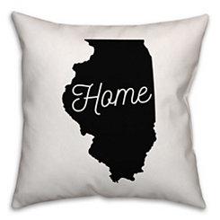 Illinois Home Pillow