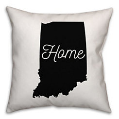 Indiana Home Pillow