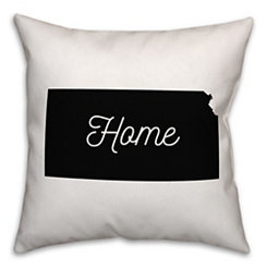Kansas Home Pillow