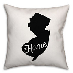 New Jersey Home Pillow