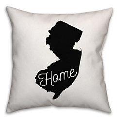 New Jersey Home Pillow