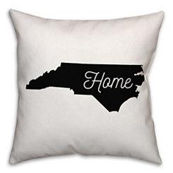 North Carolina Home Pillow