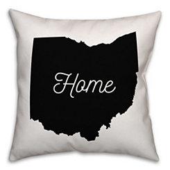 Ohio Home Pillow