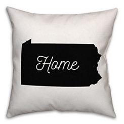 Pennsylvania Home Pillow