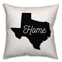 Texas Home Pillow