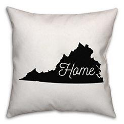 Virginia Home Pillow