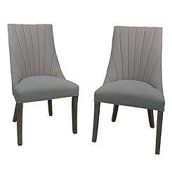 Delaney Beige Side Chairs, Set of 2