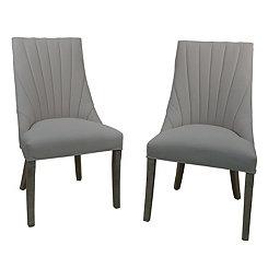 Delaney Beige Side Chairs, Set of 2
