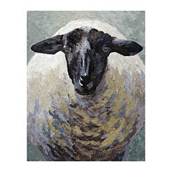 Suffolk Sheep Canvas Art Print