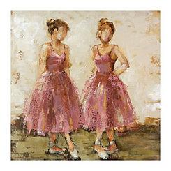 Dance Class Canvas Art Print