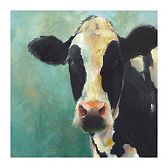 Mary Beth Cow Canvas Art Print