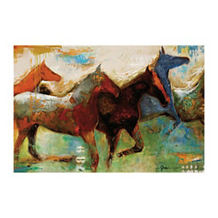 Shadow Horse Canvas Art Print