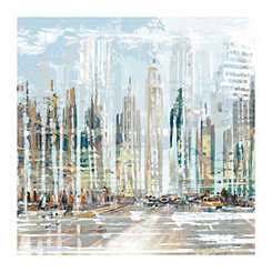 Urban Rising Canvas Art Print