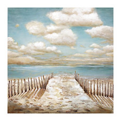 Drifting Coast Canvas Art Print