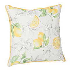 Lemon Branch Outdoor Pillow