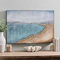 Shoreline Sparkle Canvas Art Print