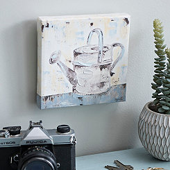 Watering Can Canvas Art Print