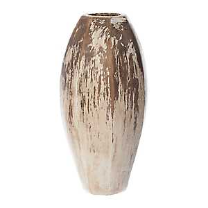 Natural Distressed Terracotta Vase, 20 in.