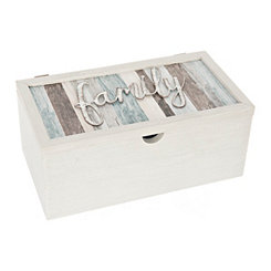 Family Sentiment Stripe Box