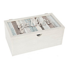 Gather Sentiment Stripe Box