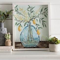 Citrus Arrangement Framed Art Print