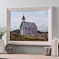 Church Buttercups Framed Art Print