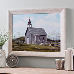 Church Buttercups Framed Art Print