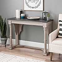 Kristen Charcoal and Cream Console Table