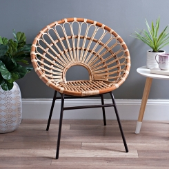 Dana Rattan Chair