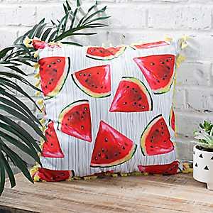 Watermelon Tassel Pillow