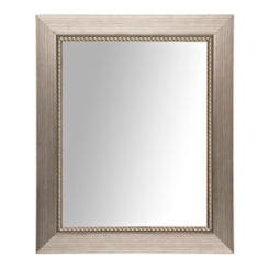 Silver Luxe Driftwood Framed Mirror, 28.8x34.8 in.