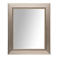 Silver Luxe Driftwood Framed Mirror, 22x28
