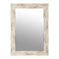 White Driftwood Mirror