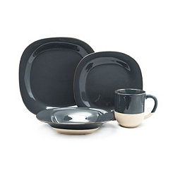 Gray Rainey 16-pc. Dinnerware Set